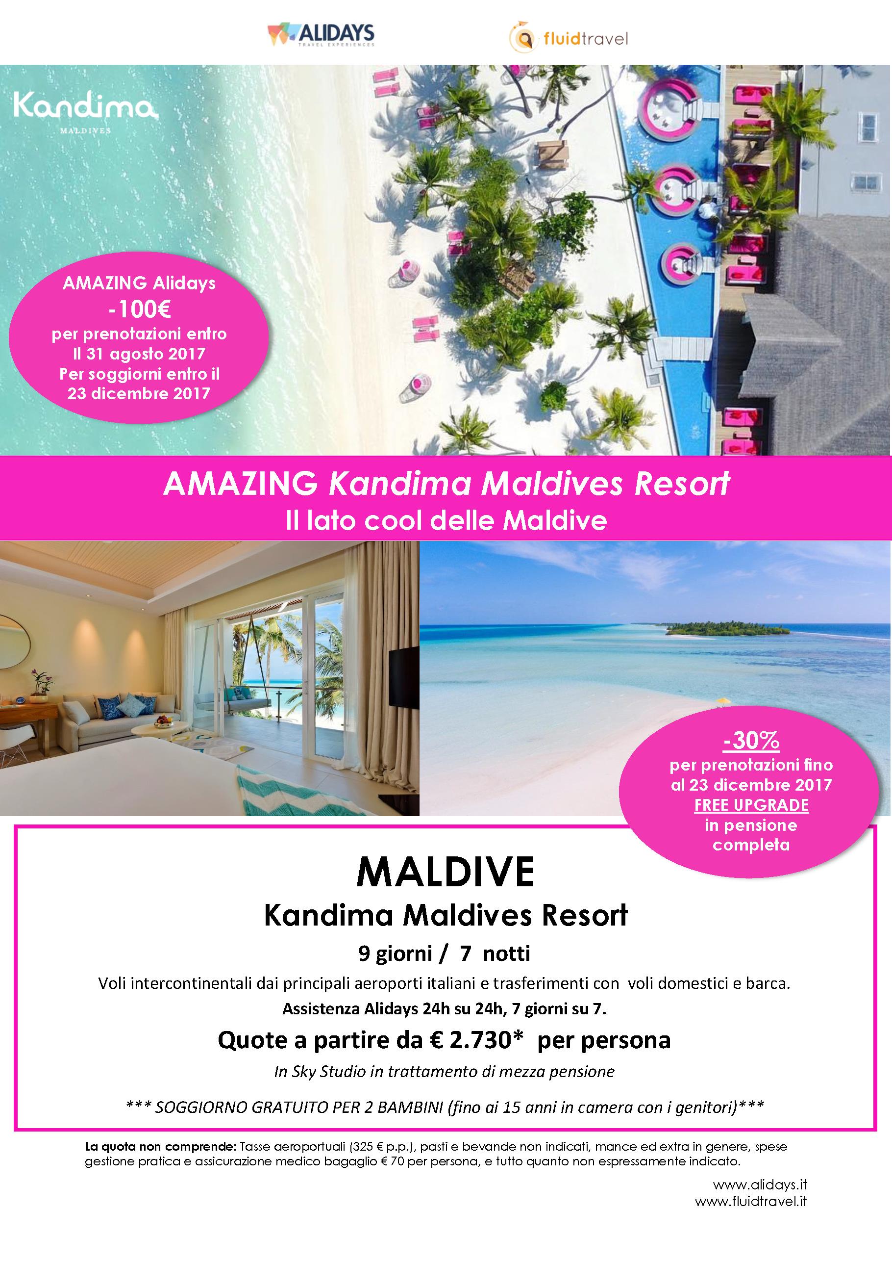 Mondintero- Agenzia Viaggi ad Alassio » Maldive Kandima Resort